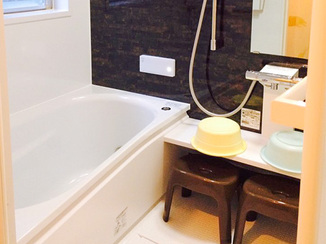 バスルームリフォーム バスルームと洗面所を一新して癒しの空間に
