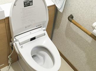トイレリフォーム 多種多様なリクエストに応え、夜間利用にも優れたトイレ