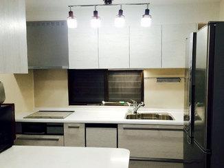 キッチンリフォーム たっぷり収納で明るく使いやすくなった奥様お気に入りの素敵なキッチン
