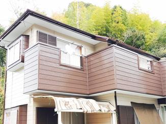 外壁・屋根リフォーム 手塗りで3回!新築同様に生まれ変わった外壁