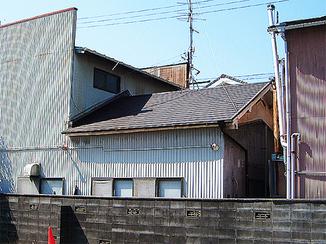 外壁・屋根リフォーム 瓦屋根からカラーベストへ葺き替え