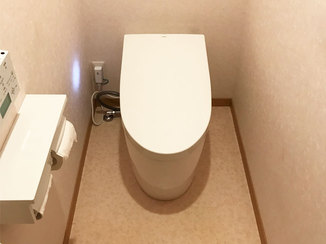 トイレリフォーム 機能が充実したハイグレードなトイレ